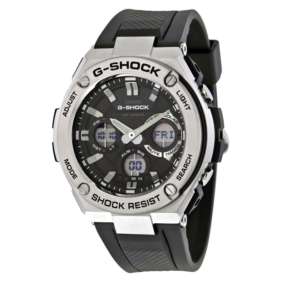 Casio g shock mens analog digital watch gsts110 1a ebay for Watches g shock