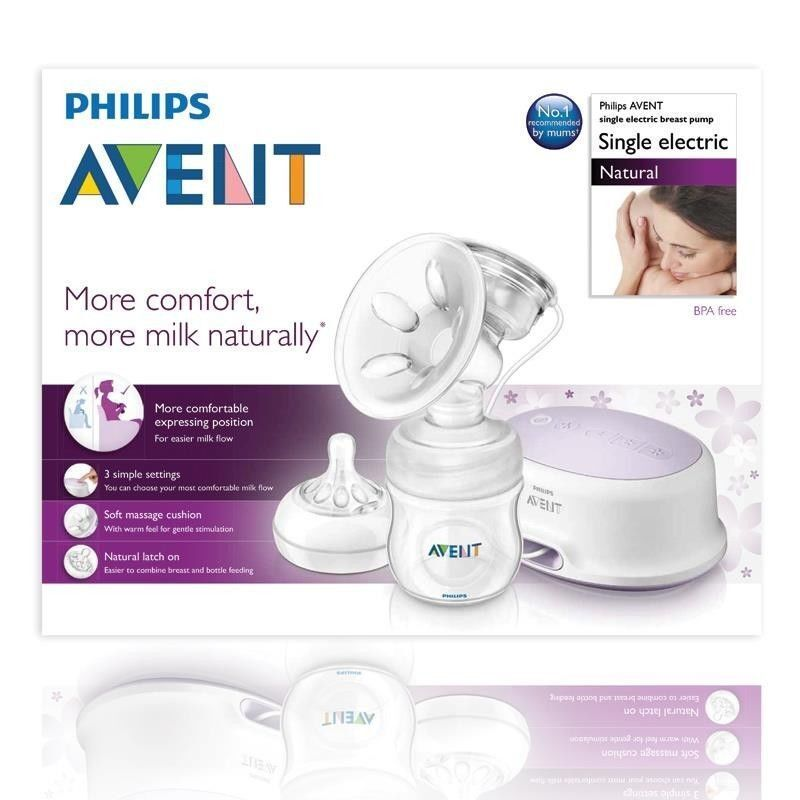 Avent breast pump via