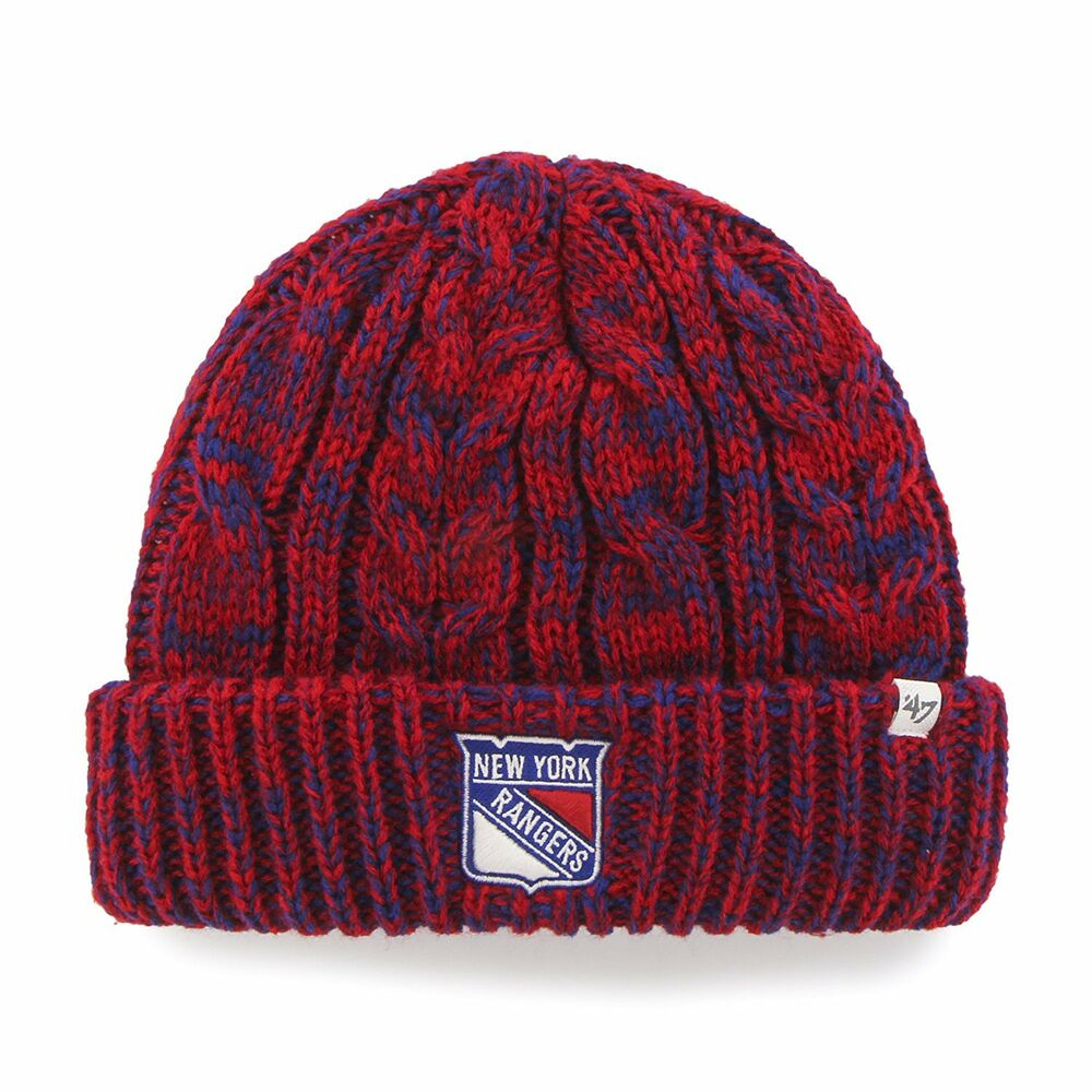 Details about Brand New Era NWT NY Rangers Women s 47 Prima Cuff Knit Beanie  Cap Hat 2f2d45f57d6