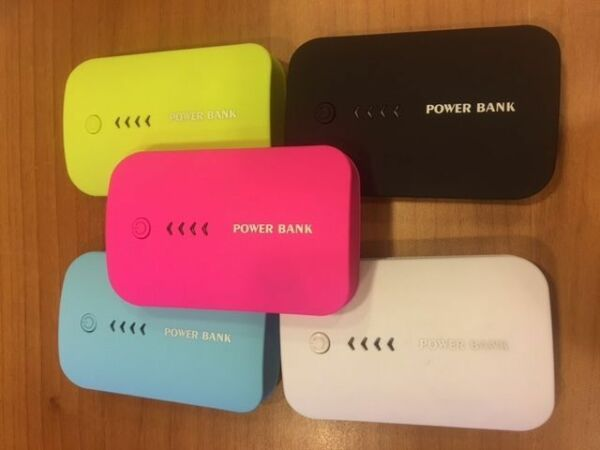 power bank 10000  MAH + Led Indicatore Carica + Torcia+ Cavetto