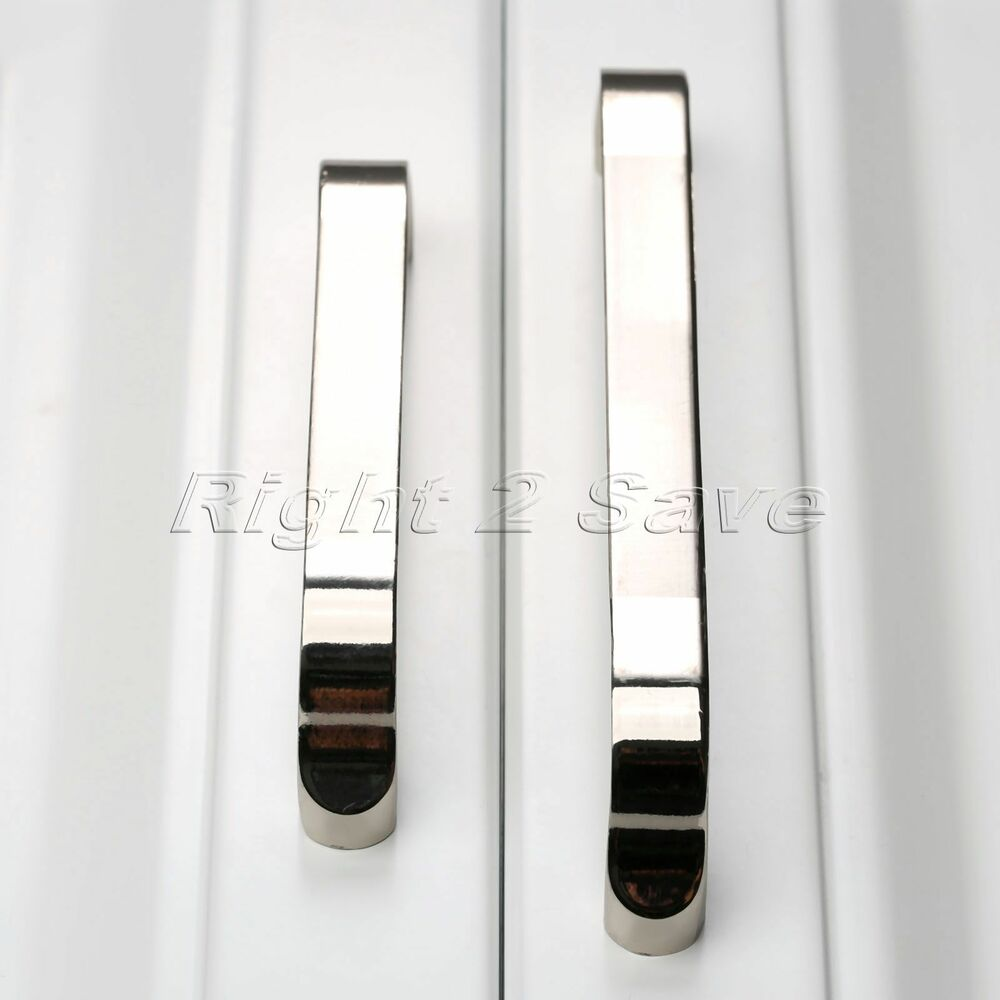 Chrome cabinet pull handle screw diy drawer cupboard door for Kitchen wardrobe cabinet