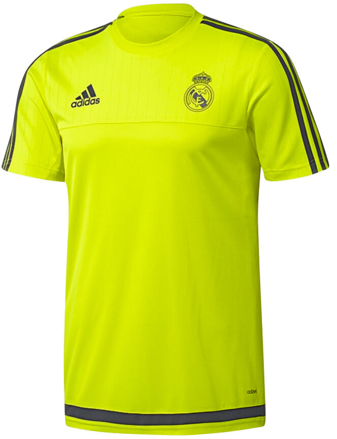 ee4d308664c adidas Boys Real Madrid Adizero Green T Shirt Top Tee Training 15-16 Years  New