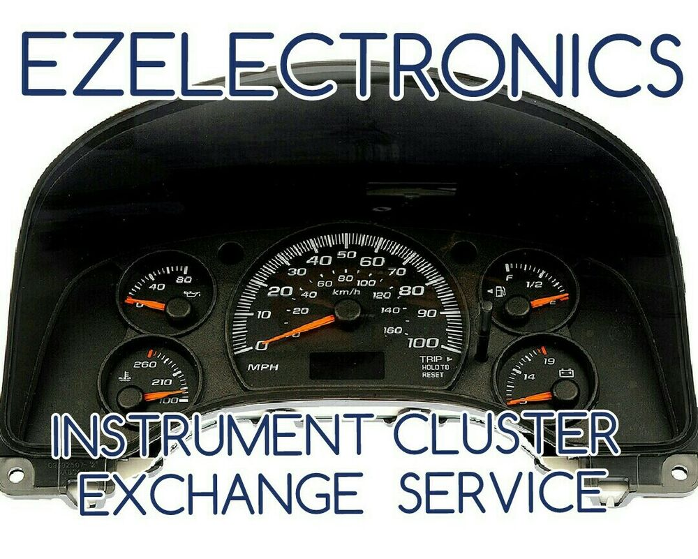 Details About 2000 To 2005 Chevy Impala Monte Carlo Instrument Cer Exchange 09383141