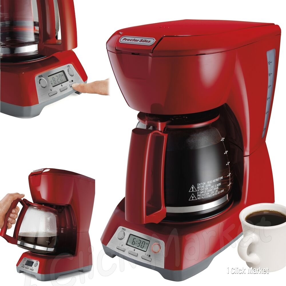 Automatic Drip Coffee Maker History : Coffee Maker Home Automatic Brewer Pot Programmable 12-Cup Coffeemaker Machine eBay