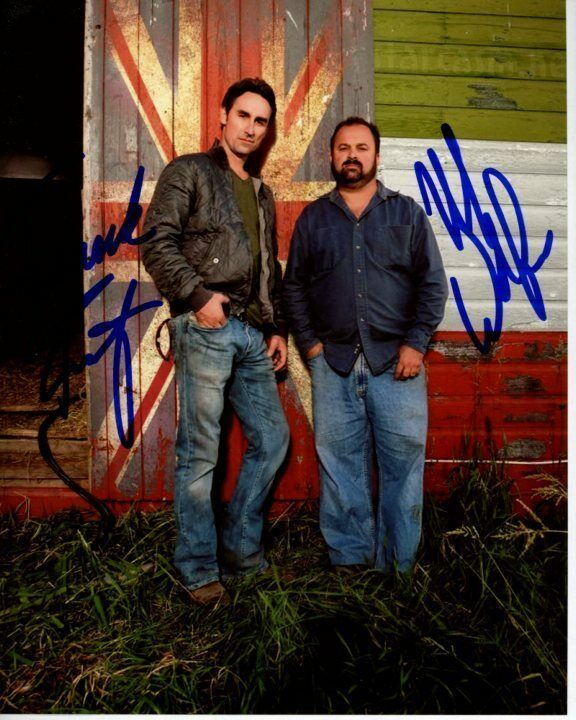 MIKE WOLFE & FRANK FRITZ Signed Autographed AMERICAN