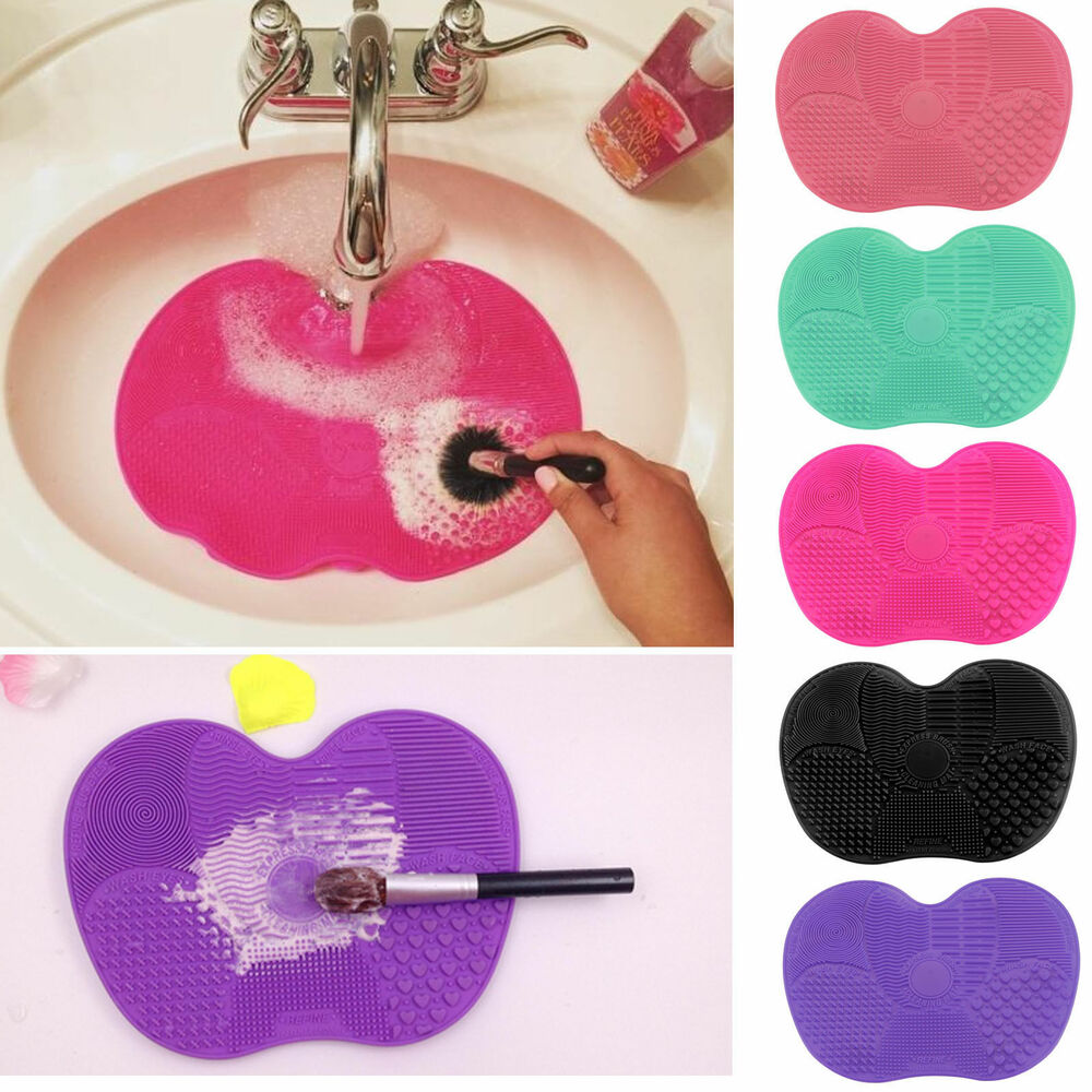 Silicone Makeup Brush Cleaner Pad Cosmetic Cleaning Mat
