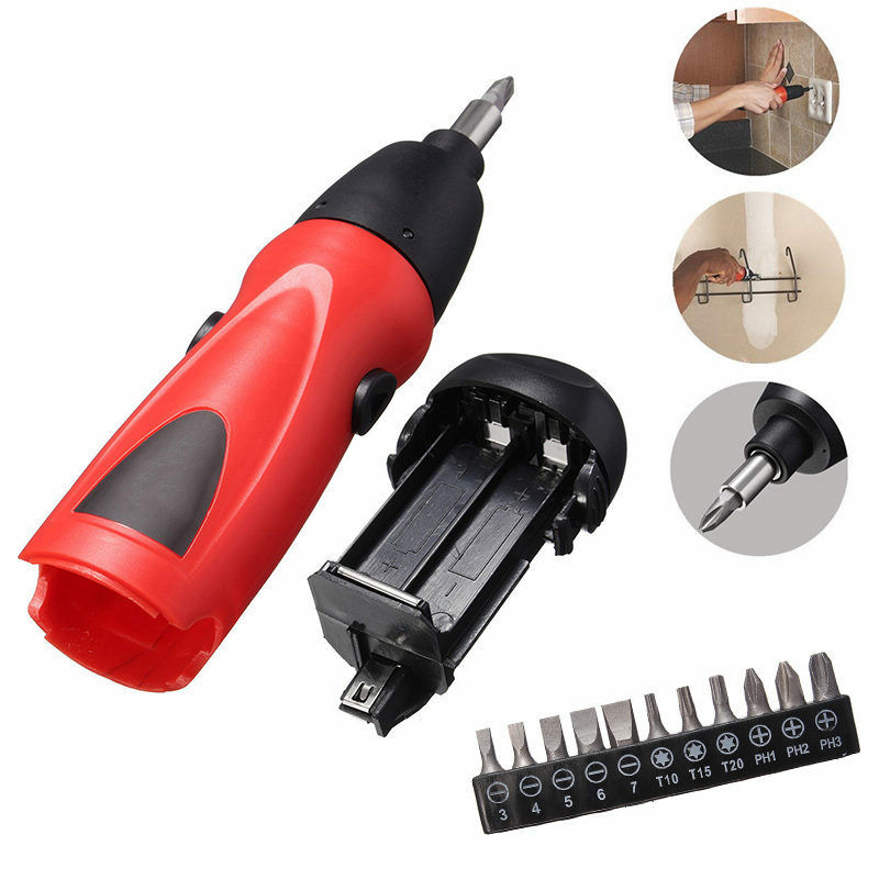 New 6v Electric Screwdriver Battery Operated Cordless