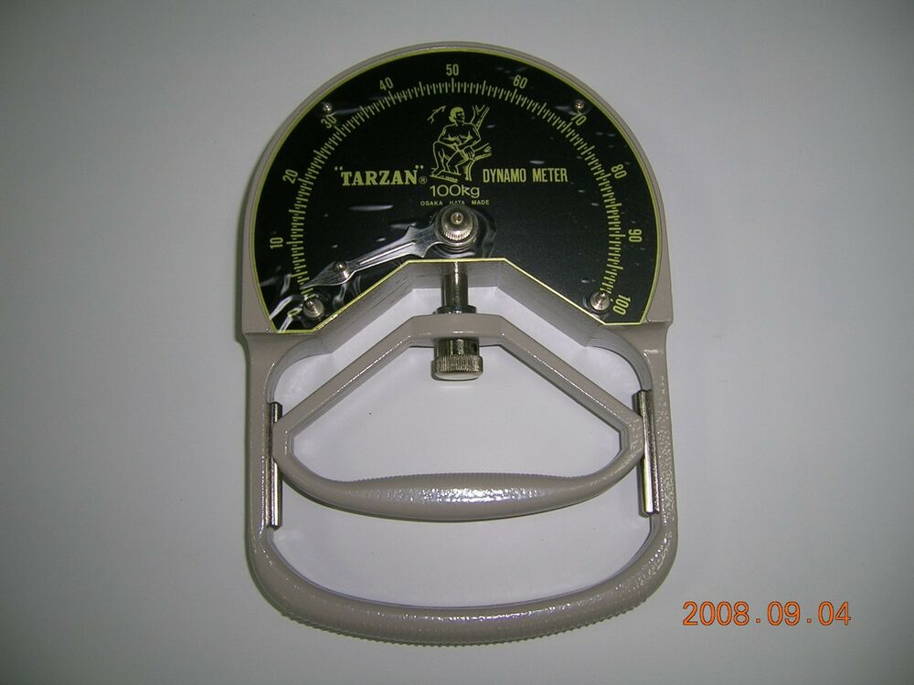 Dynamometer Horsepower Measurement : Tarzan hand dynamometer grip strength meter measurement