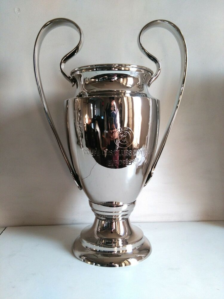 "2016 Champions League Trophy Replica 18"", UEFA REPLICA ..."