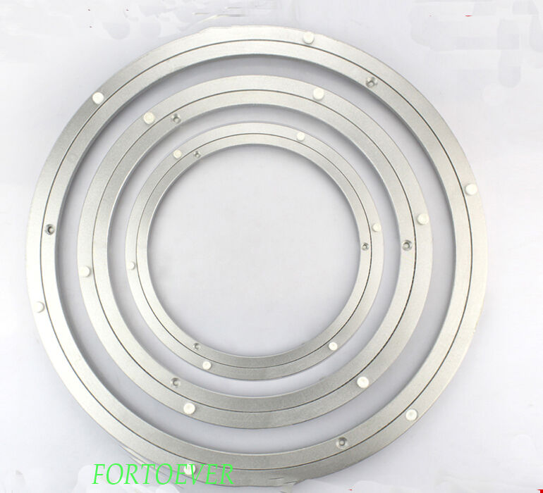 450mm round lazy susan bearing for turntable home hardware aluminum ebay. Black Bedroom Furniture Sets. Home Design Ideas