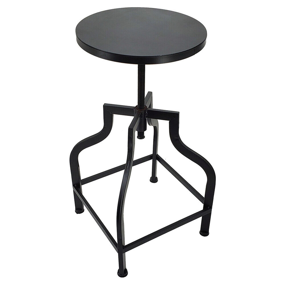 Vintage Bar Stool Adjustable Seat Height Counter Top Chair: NEW! RUSTIC RETRO BRISTOL BARSTOOL