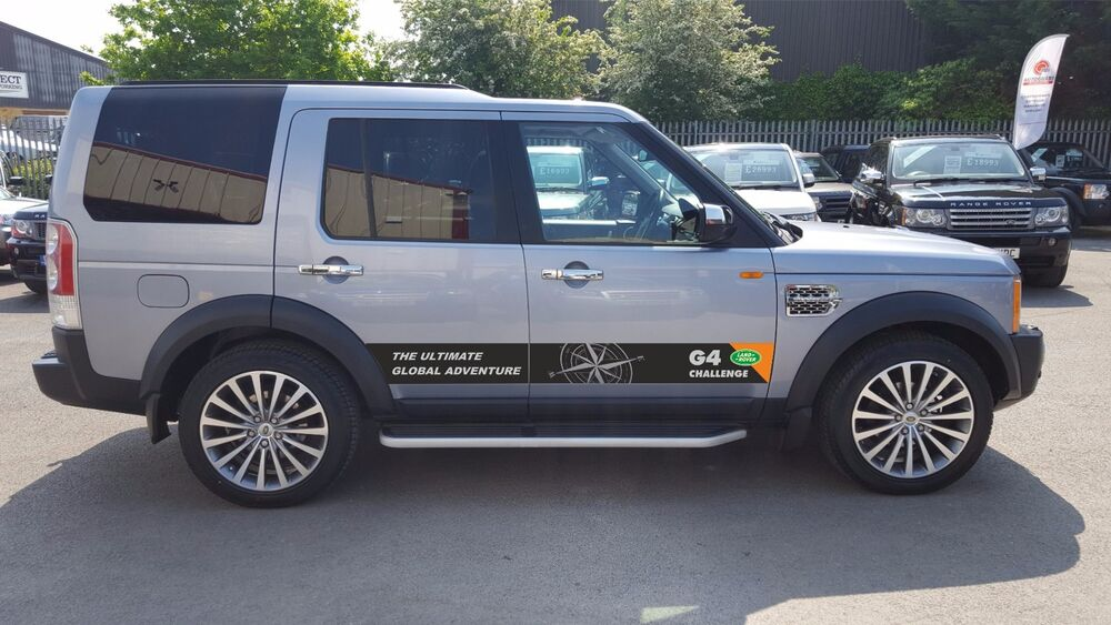 Land Rover Discovery 3 Aftermarket Decals G4 Challenge 4