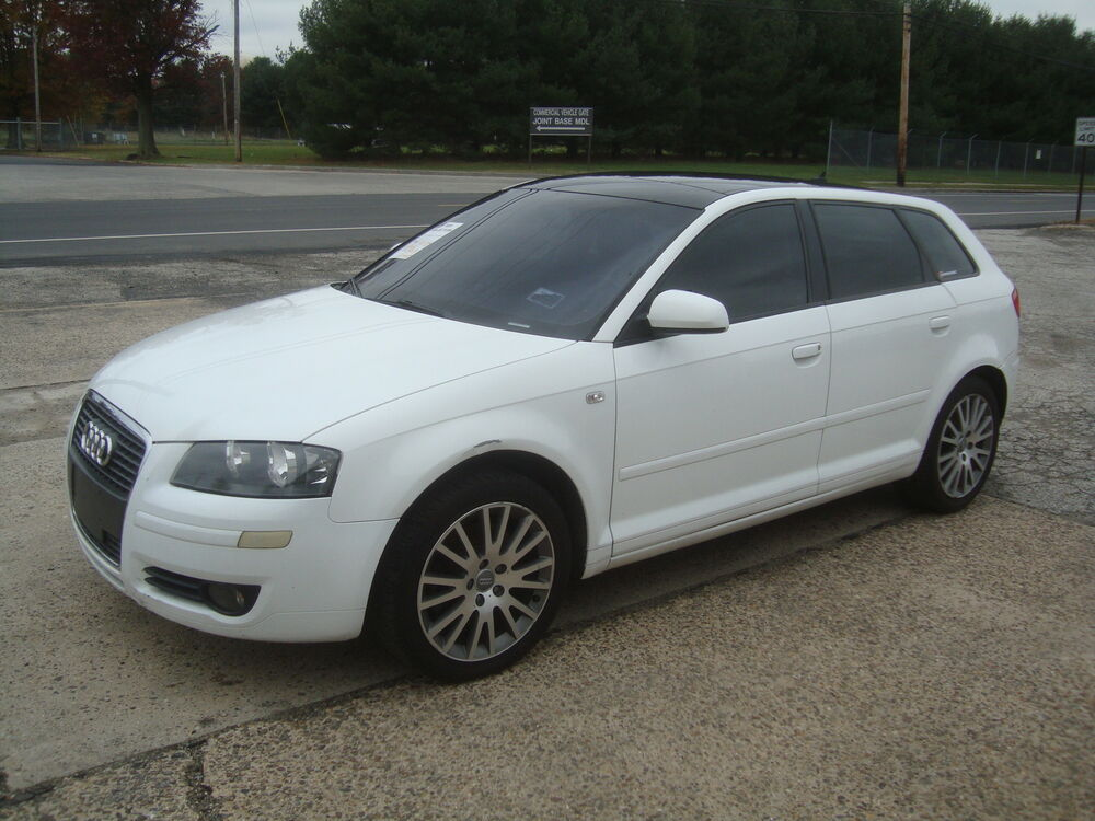 2008 audi a3 wagon hatchback salvage rebuildable repairable ebay
