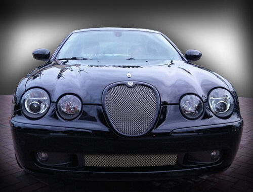 jaguar s type r 2003 2004 lower middle bumper mesh grille. Black Bedroom Furniture Sets. Home Design Ideas