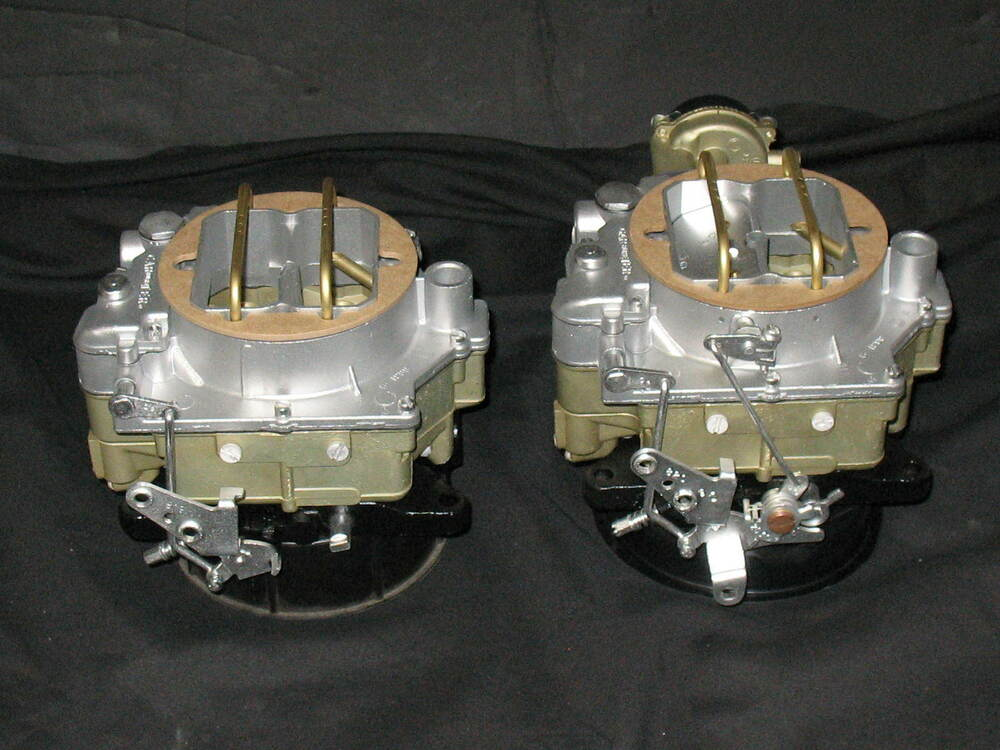 Ebay Motors Fees >> 1957-1961 Dual Quad Carter WCFB Carburetors Corvette Chevy 283 245HP 2626s 2627s | eBay