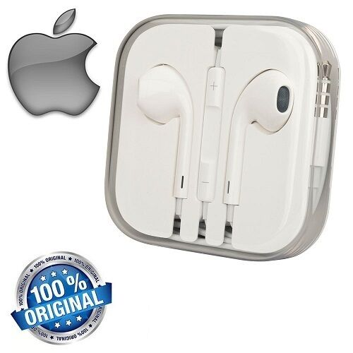 Cuffie Auricolari EarPods MD827 Per Apple iPhone 5 5S 6 6s iPod MD827ZM/A
