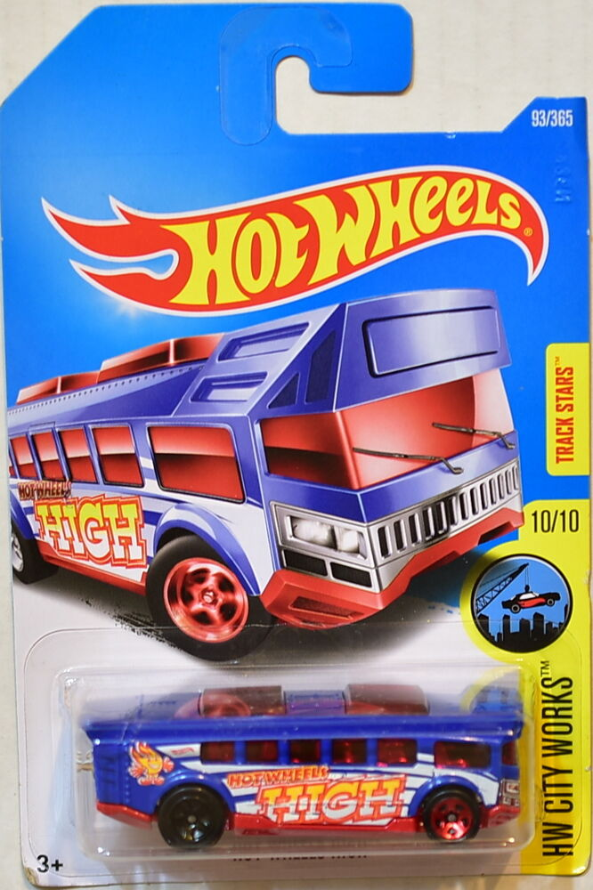 hot wheels 2017 hw city works hot wheels high 10 10 blue. Black Bedroom Furniture Sets. Home Design Ideas