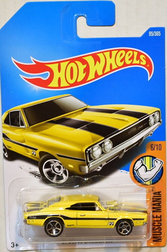 Hot Wheels 2017 Muscle Mania 69 Dodge Charger 500 6 10