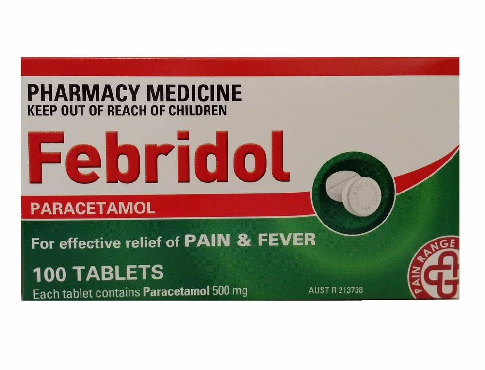 Is paracetamol over the counter