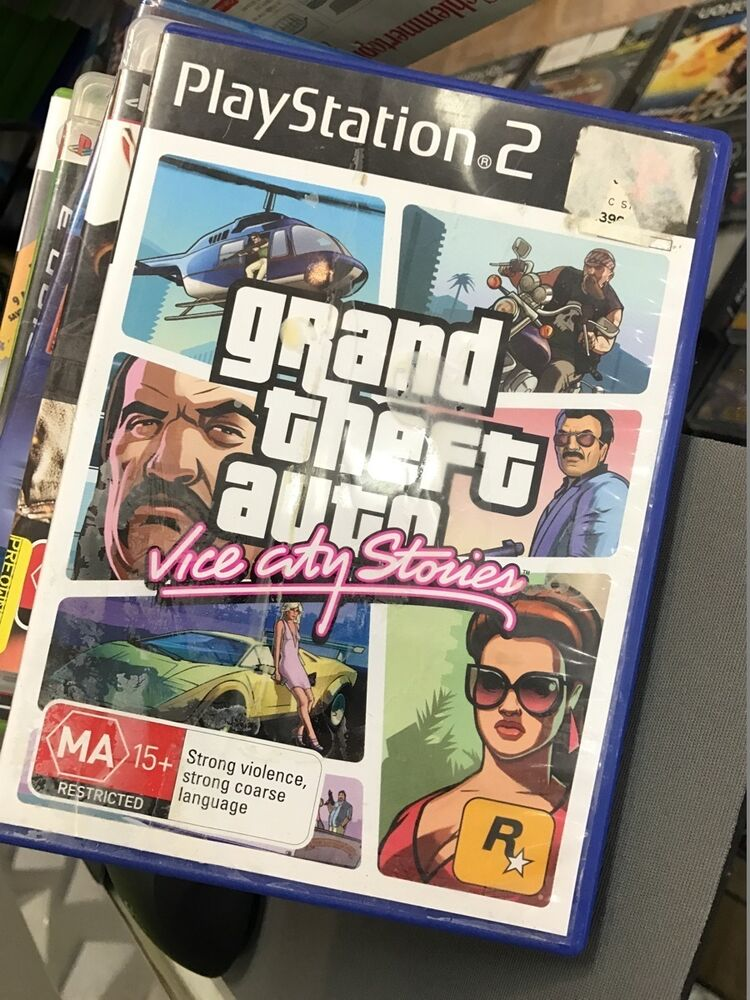 Grand Theft Auto Vice City Stories PS2 | eBay