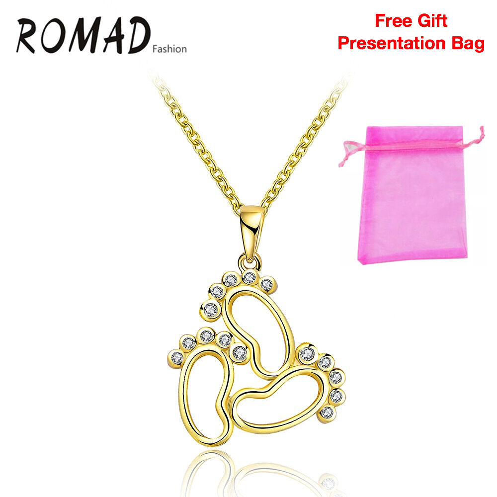 Details about 3 Feet Gold Pendant Necklace Womens 14K Gold Plated Fashion  Christmas Gift d1ee889325