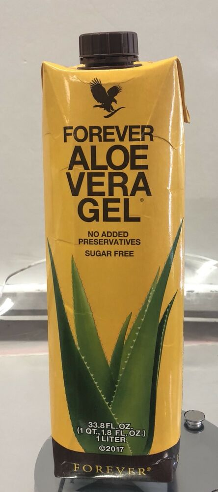 forever living aloe vera gel 33 8 1 liter free shipping ebay. Black Bedroom Furniture Sets. Home Design Ideas