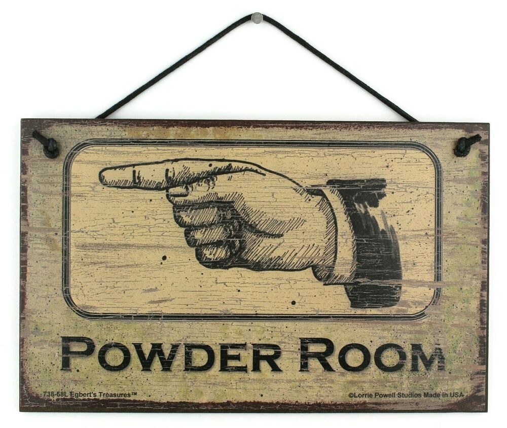 Powder Room Signs For Bathroom 28 Images Powder Room Metal Sign Bath D 233 Cor Country D 233