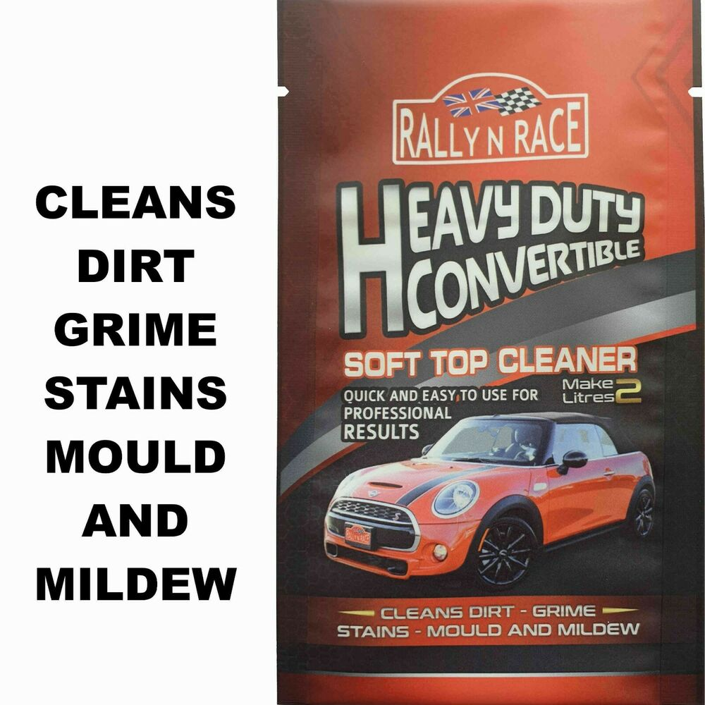 porsche convertible mohair fabric roof cleaner stains mould mildew ebay. Black Bedroom Furniture Sets. Home Design Ideas