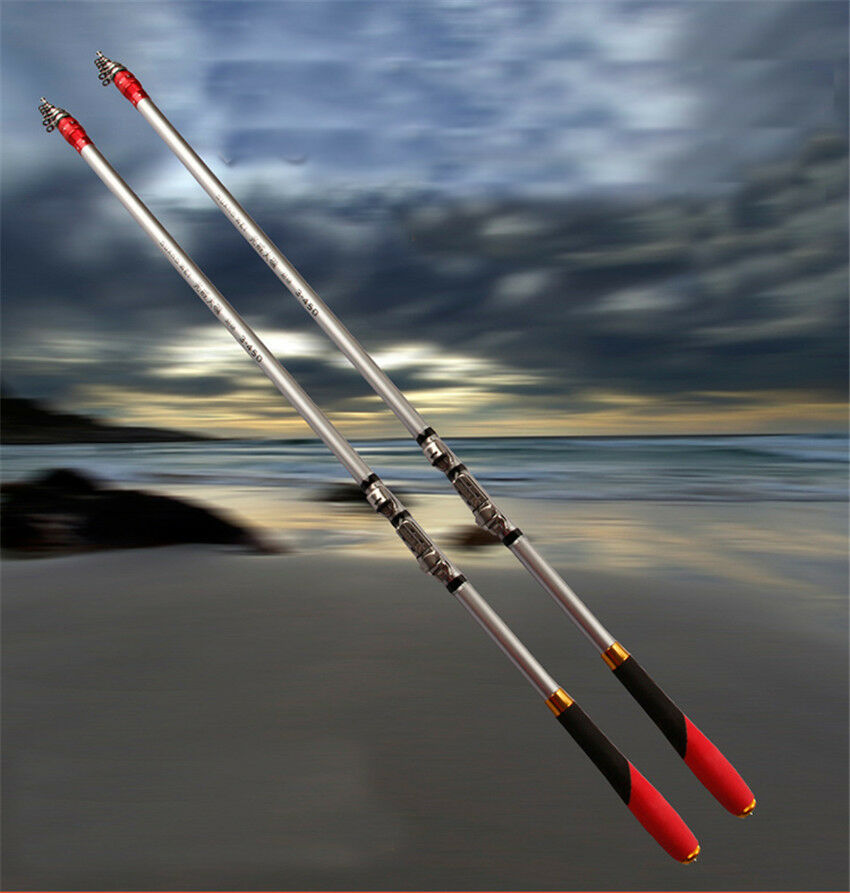 Telescopic adjustable rock fishing rod pole saltwater for Rock fishing rigs