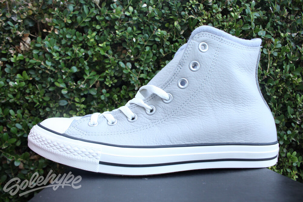 537e272271dfef Details about CONVERSE CHUCK TAYLOR ALL STAR SZ 11 PLIMSOLL ASH GREY EGRET  DOLPHIN 153818C