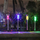 5 Pack Outdoor Stainless Steel Led Solar Power Light Lawn Garden Landscape Path