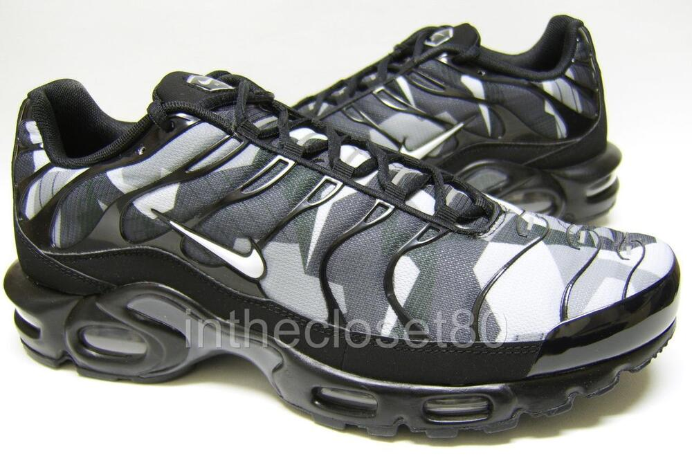 new product 0a32c 4de7c Details about Nike Air Max Plus GPX Tn Tuned 1 Black White Grey Mens  Trainers 844873 002