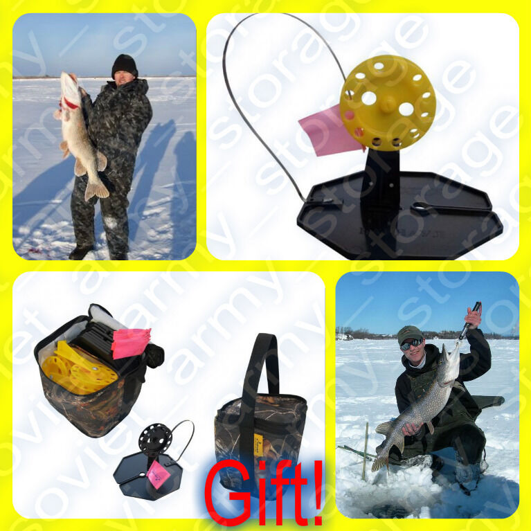 Tip up 20 pcs ice fishing gift for successful fishing for Ebay ice fishing
