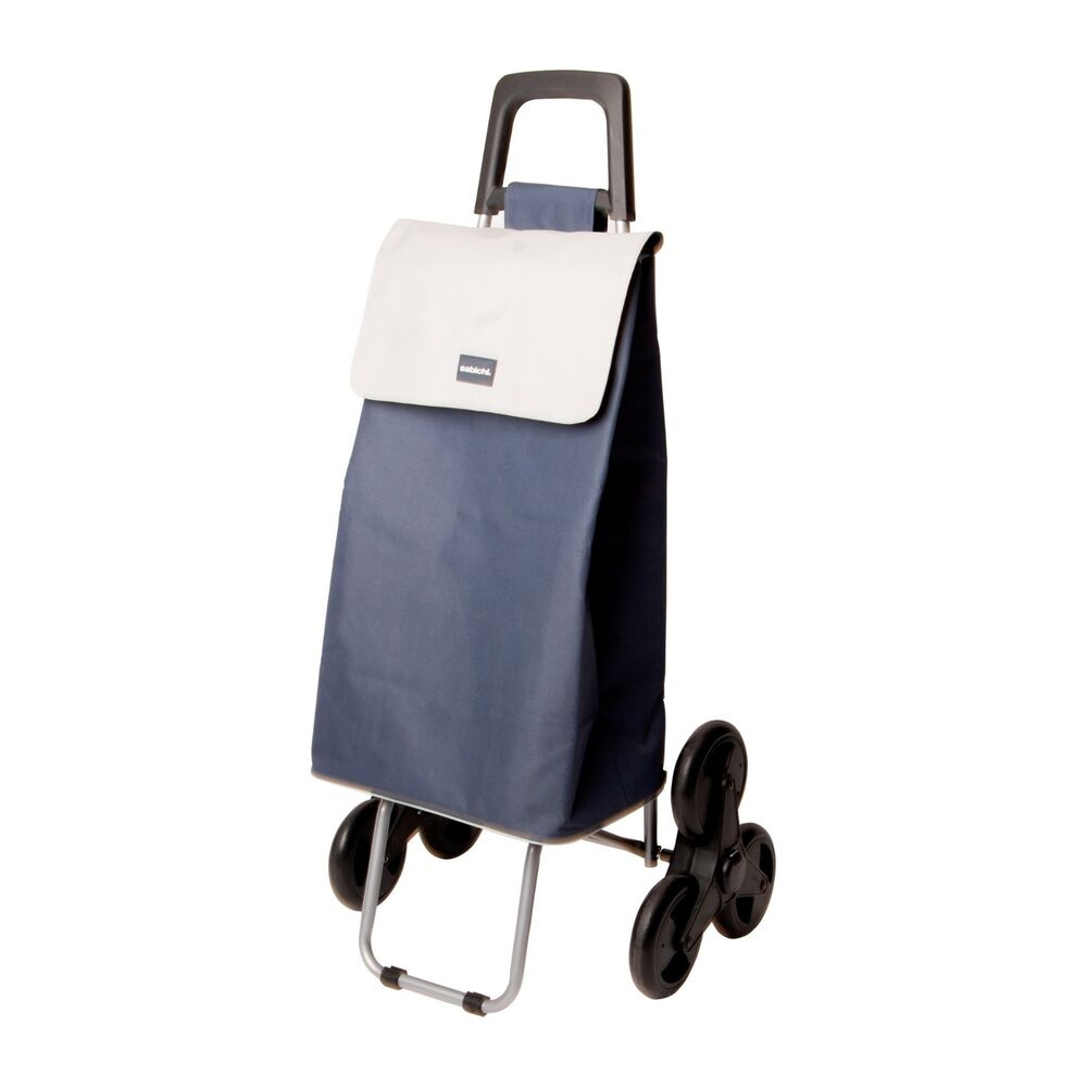 6 wheel stair climber insulated cool bag on wheels shopping trolley ebay. Black Bedroom Furniture Sets. Home Design Ideas