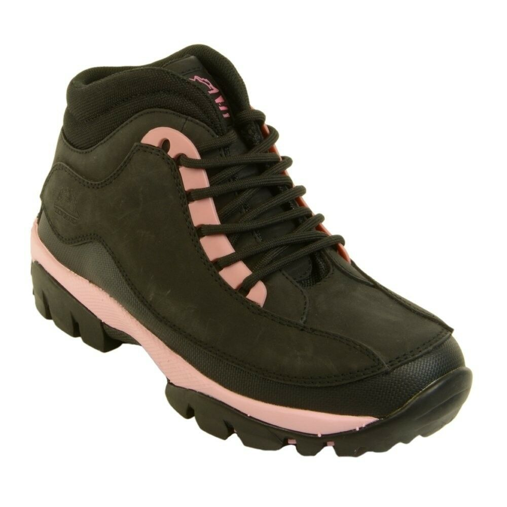 50341fbdbac WOMENS SAFETY BOOTS GROUNDWORK GR386 STEEL TOE CAP LACE UP ANTI SLIP  LEATHER | eBay
