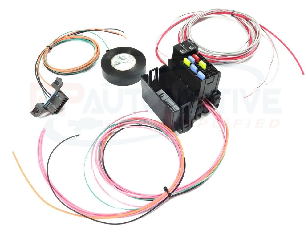 Ls1 Wiring Harness Swap Kit : Ls swap diy harness rework fuse block kit for
