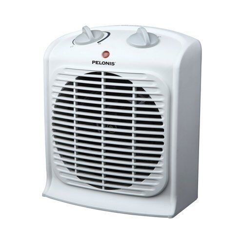 Pelonis space heater energy efficient portable electric small fan forced white ebay - Heating small spaces concept ...