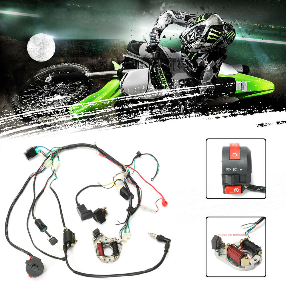 Cdi Wire Harness Stator Assembly Wiring For Atv Electric