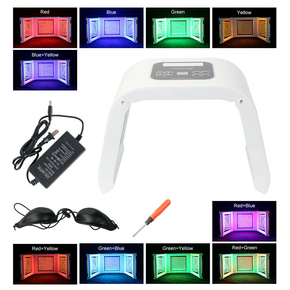 Pro Pdt Photon 10 Colors Light Therapy Led Skin