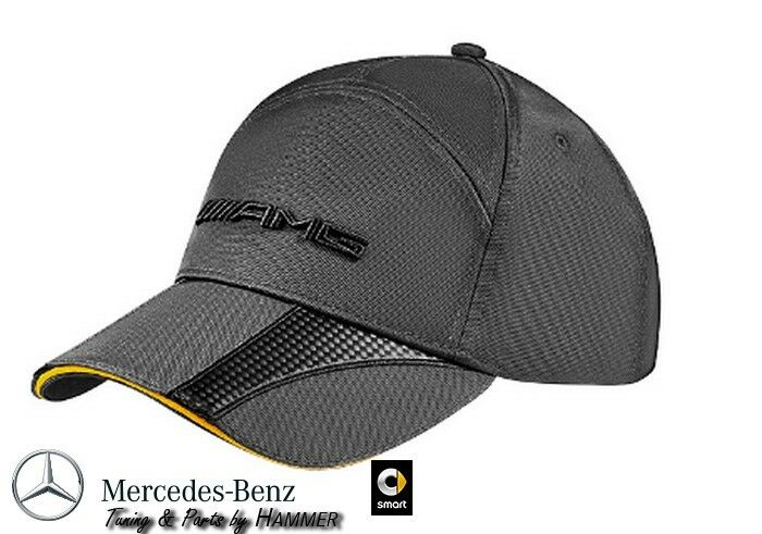 Mercedes benz amg gt baseball cap hat with brim anthracite for Mercedes benz hat