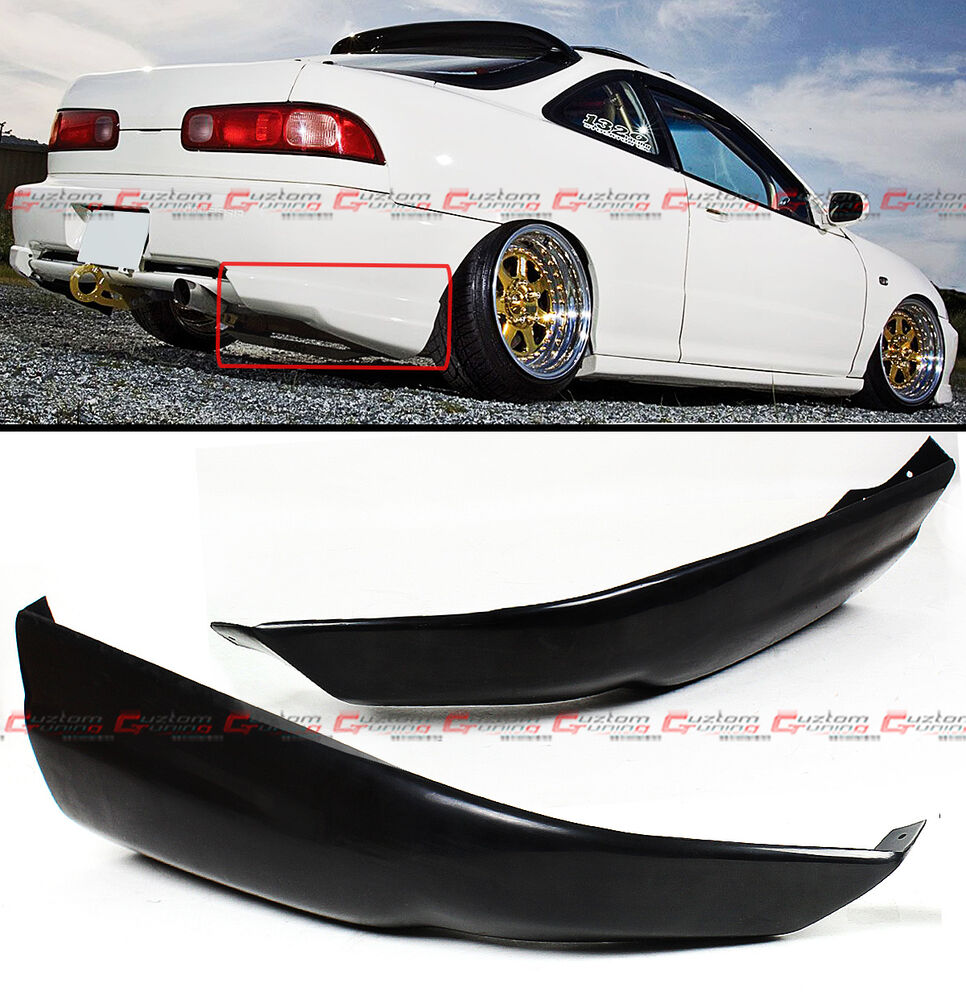 For 1998-01 Acura Integra DC JDM Rear Bumper Lip Add-on