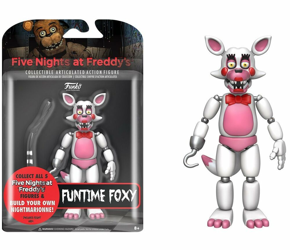 FNAF Five Nights At Freddy's FUNTIME FOXY Articulated
