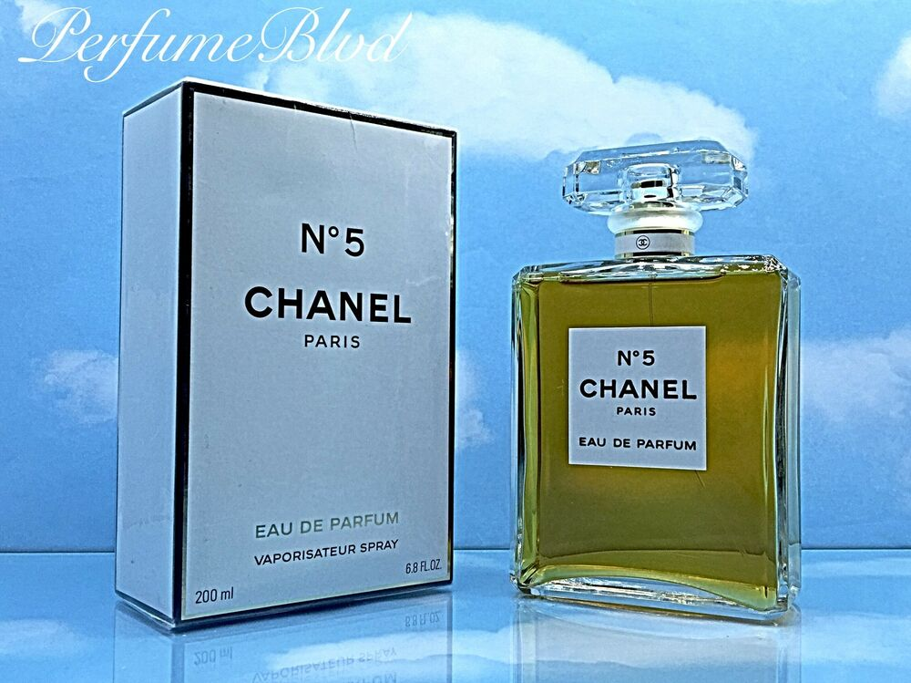 chanel no 5 eau de parfum 6 8 fl oz 200 ml spray for women. Black Bedroom Furniture Sets. Home Design Ideas