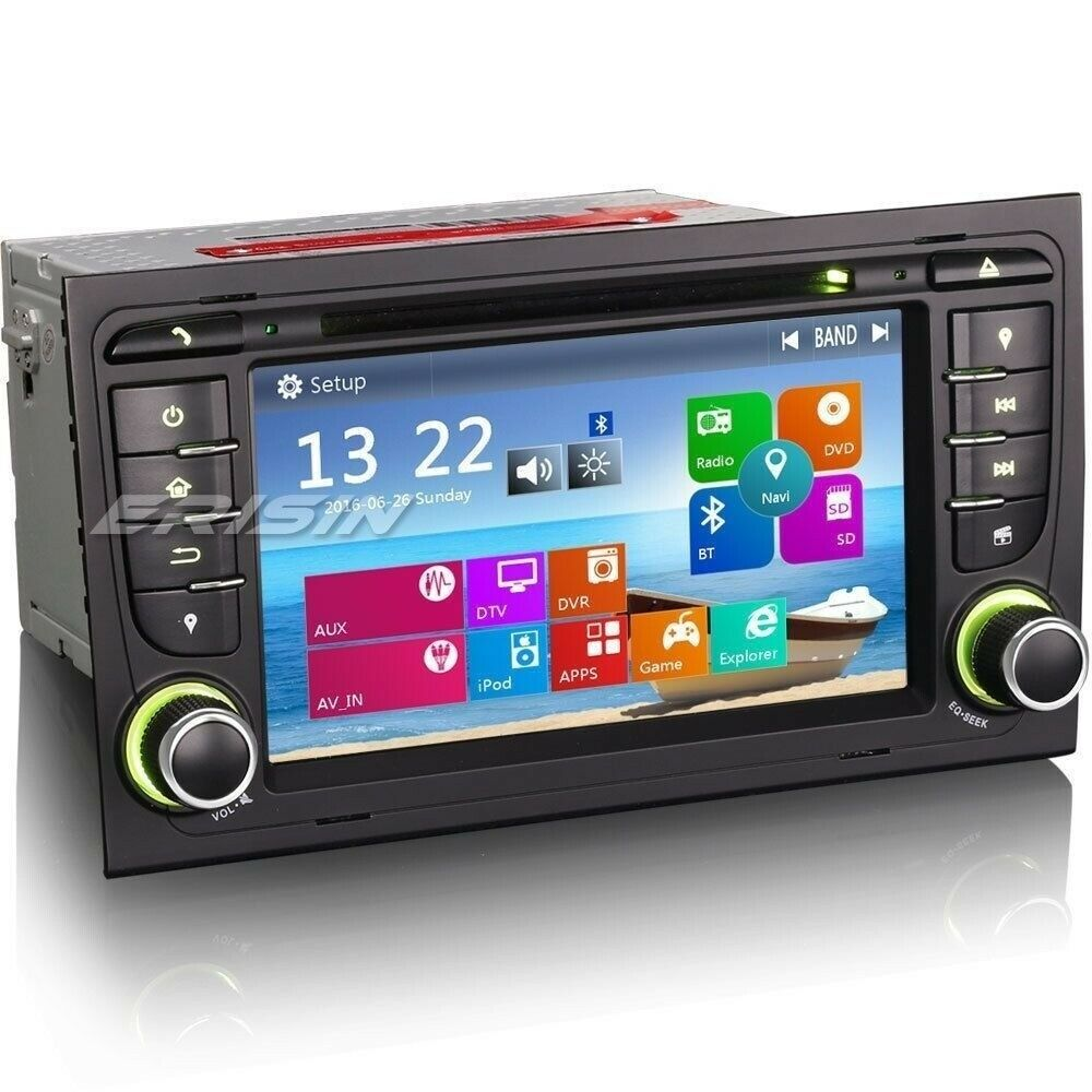 7 autoradio gps navigatore ipod dvb t dvr for audi a4 s4 rs4 b9 b7 seat 7378ai ebay. Black Bedroom Furniture Sets. Home Design Ideas