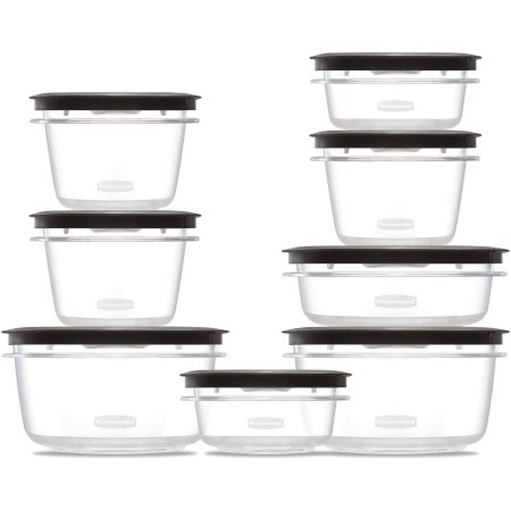 Rubbermaid Premier Food Storage Containers 16 Piece Set