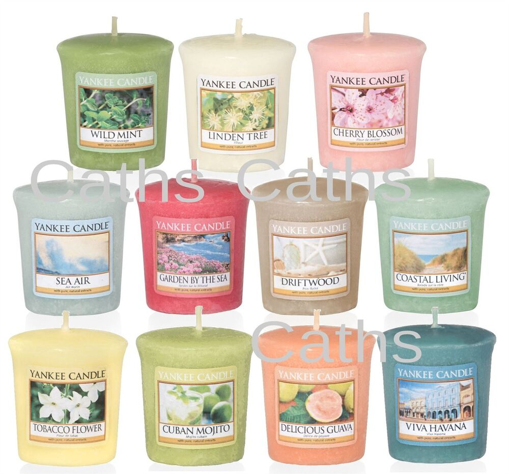 Yankee Candle Votive Sampler Candles 2017 Including New