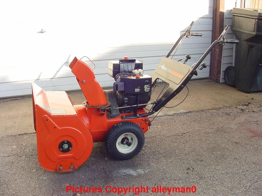2 stage snow blower ariens st724 2 stage snow blower thrower model 924048 28976