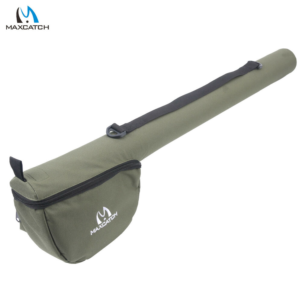 Fly fishing rod tube triangle rod case cordura rod storage for Fishing rod case