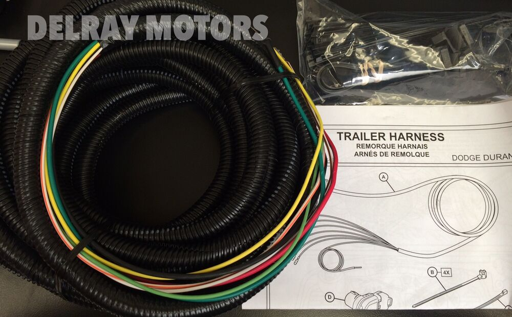 s l1000 trailer hitch wiring harness mopar 2014 2015 dodge durango brand  at n-0.co