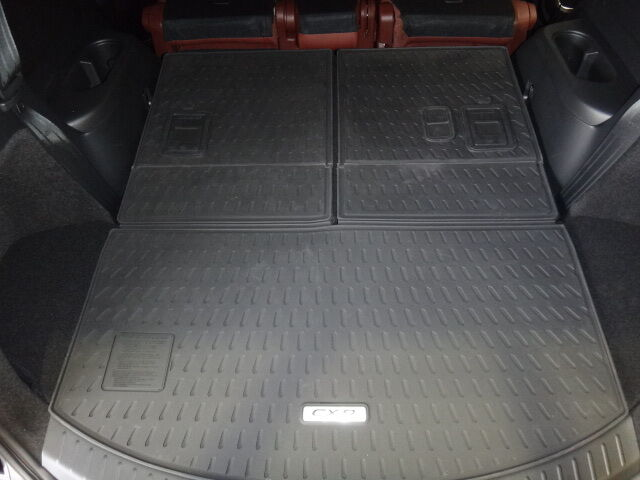 2016 2017 2018 mazda cx 9 rear rubber cargo tray 3 piece 00008bn10 ebay. Black Bedroom Furniture Sets. Home Design Ideas